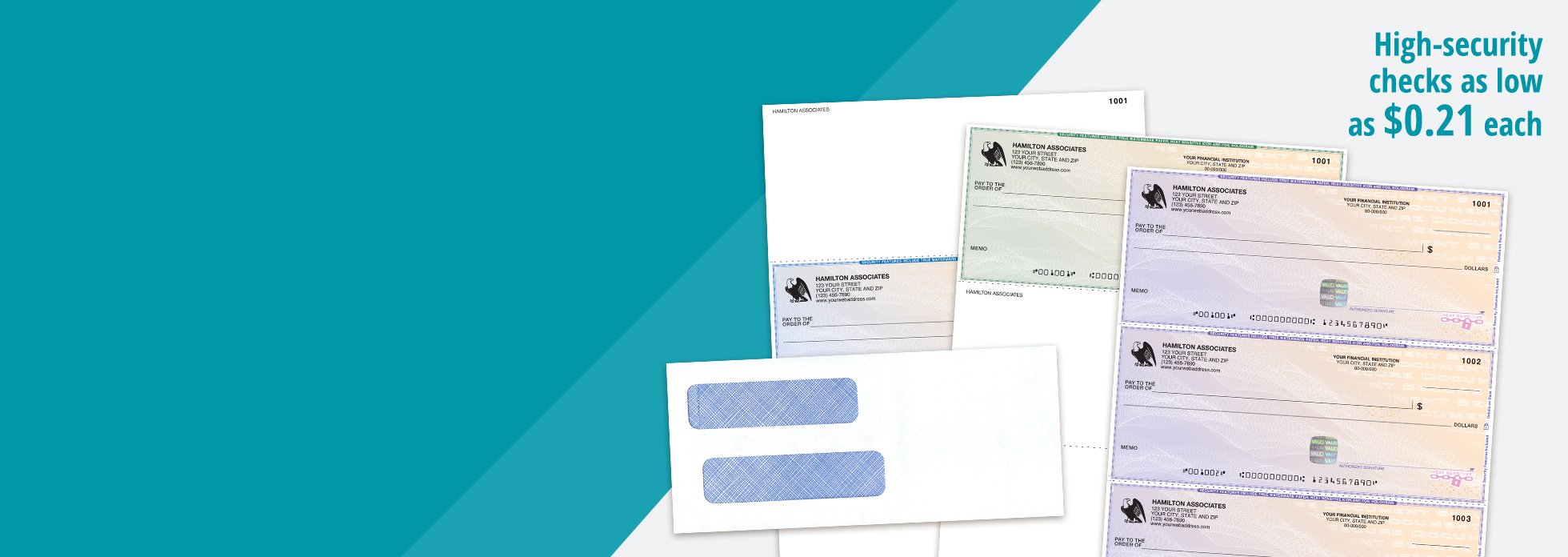Make security your priority. Protect your business with Abila software<br>compatible high-security checks. Shop Checks
